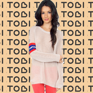 Striped Envy Sweater